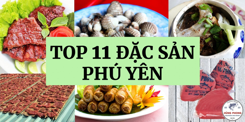 Top 11 Đặc Sản Phú Yên Làm Quà